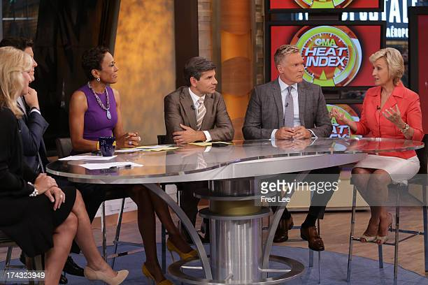 AMERICA Journalist Tina Brown is a guest on Good Morning America 7/23/13 airing on the Walt Disney Television via Getty Images Television Network DR...