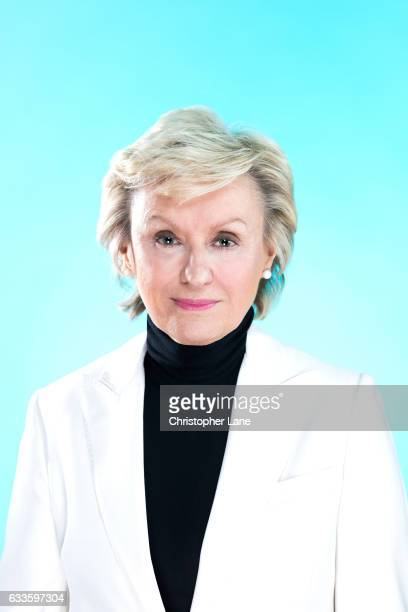 Journalist Tina Brown is photographed for The Observer Magazine on November 22 2016 in New York City