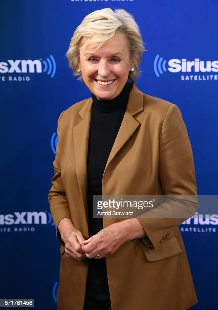 Journalist Tina Brown visits the SiriusXM Studios on November 8 2017 in New York City