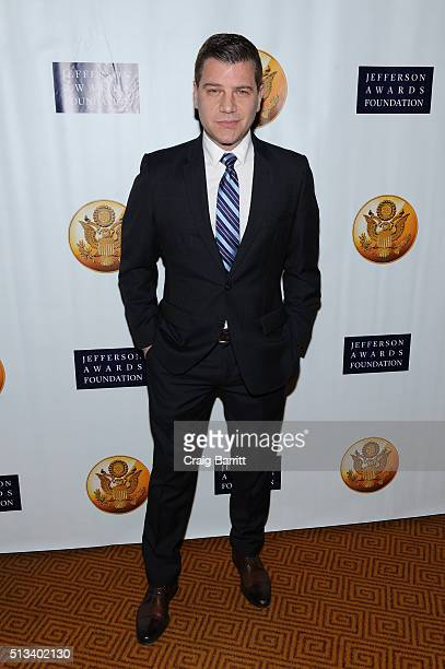Journalist Tom Murro attends Jefferson Awards Foundation 2016 NYC National Ceremony on March 2 at Gotham Hall in New York City.