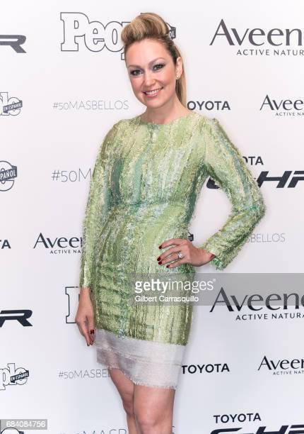Journalist Veronica Albornoz arrives at People en Espanol's 50 Most Beautiful Gala 2017 at Espace on May 16 2017 in New York City