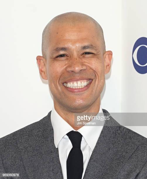 Journalist Vladimir Duthiers attends the 2018 CBS Upfront at The Plaza Hotel on May 16 2018 in New York City