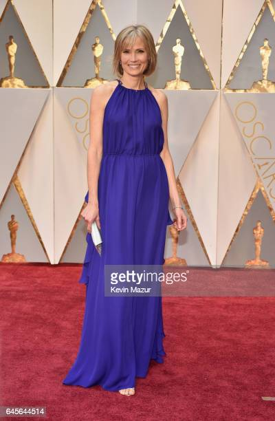Journalist Willow Bay attends the 89th Annual Academy Awards at Hollywood Highland Center on February 26 2017 in Hollywood California