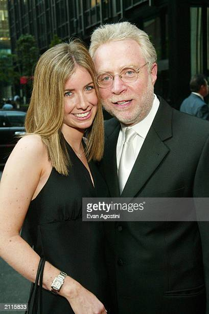 Journalist Wolf Blitzer and daughter Ilana arrive at the National 2003 Gracie Allen Awards at The New York Hilton June 26 2003 in New York City The...