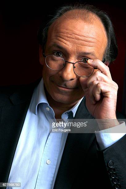 journalist Yves Threard Photographed in PARIS