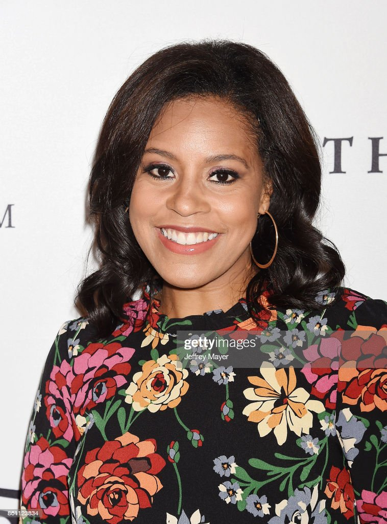 Journalist/anchor Sheinelle Jones arrives at the Variety's Power Of Women: Los Angeles at the Beverly Wilshire Four Seasons Hotel on October 13, 2017 in Beverly Hills, California.