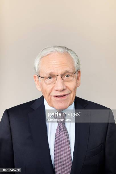 Journalist/author Bob Woodward is photographed for The Guardian Newspaper on September 11 2018 in New York City