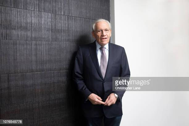 Journalist/author Bob Woodward is photographed for The Guardian Newspaper on September 11 2018 in New York City PUBLISHED IMAGE