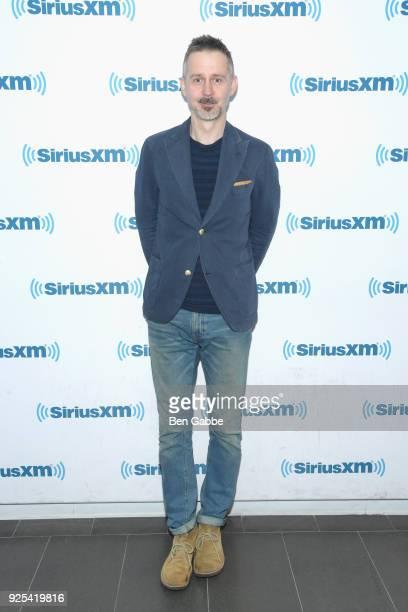 Journalist/author Christopher J Yates visits SiriusXM Studios on February 28, 2018 in New York City.