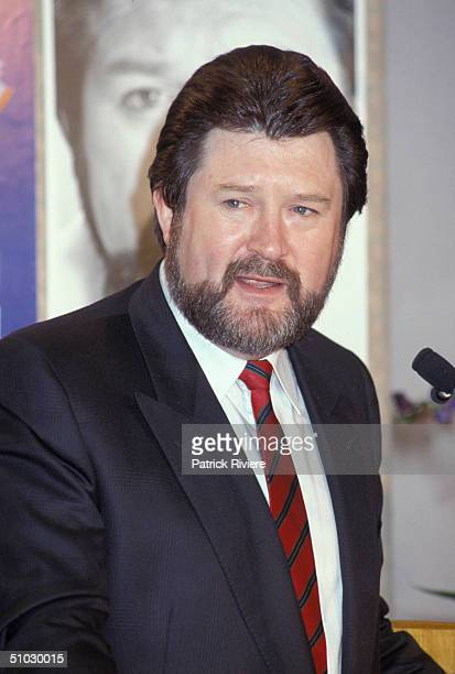 Journalist/Broadcaster Derryn Hinch at the launching of his novel 'Death in Paradise' in Sydney