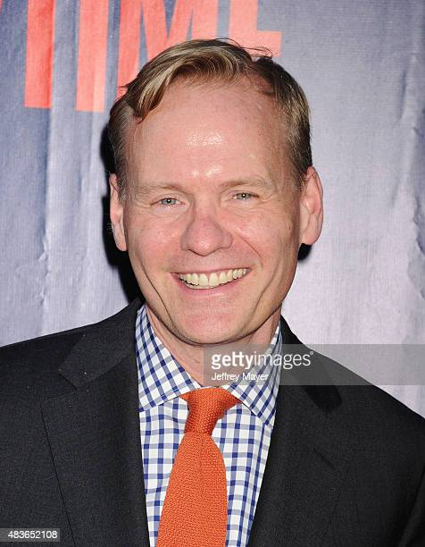 Journalist/Host John Dickerson arrives at the CBS, CW And Showtime 2015 Summer TCA Party at Pacific Design Center on August 10, 2015 in West...