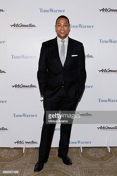 Journalist/news anchor Don Lemon attends the ArtsConnection 35th Anniversary Spring Benefit at 583 Park Avenue on April 24 2014 in New York City