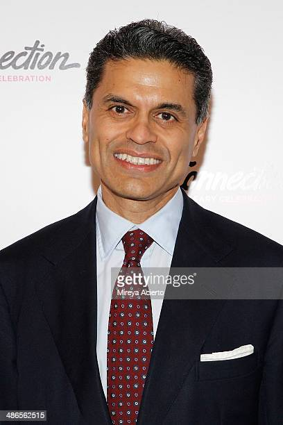 Journalist/news anchor Fareed Zakaria attends the ArtsConnection 35th Anniversary Spring Benefit at 583 Park Avenue on April 24 2014 in New York City