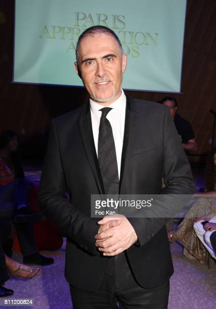 """Journalist/presenter Francois Durpaire attends the """"Paris Appreciation Awards 2017"""" At The Eiffel Tower on July 8, 2017 in Paris, France."""