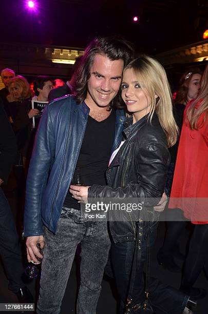 Journalists Alexandre Maras from Gala and Marie Inbona from NRJ 12 attend the 'Romy Schneider and Patrick Dewaere Awards 2011 Ceremony at the Bon...