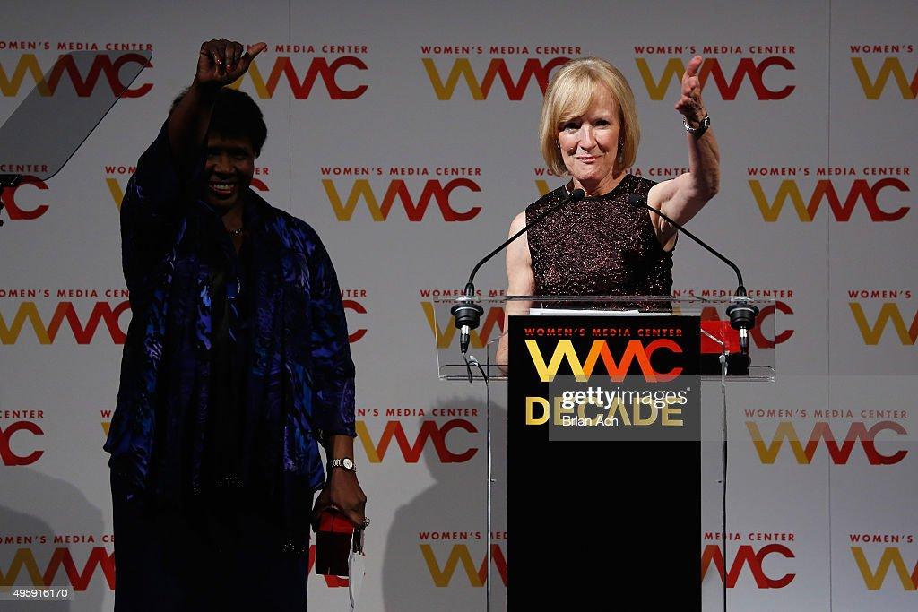 The Women's Media Center 2015 Women's Media Awards - Arrivals