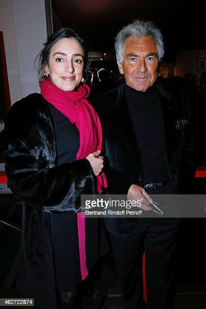 Journalists Anna Cabana and JeanPaul Enthoven attend the Private Screening of the Movie 'Tout Peut Arriver' at Mac Mahon Cinema on February 3 2015 in...