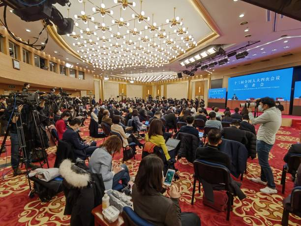CHN: China's National People's Congress - News Conference Of Foreign Minister Wang Yi