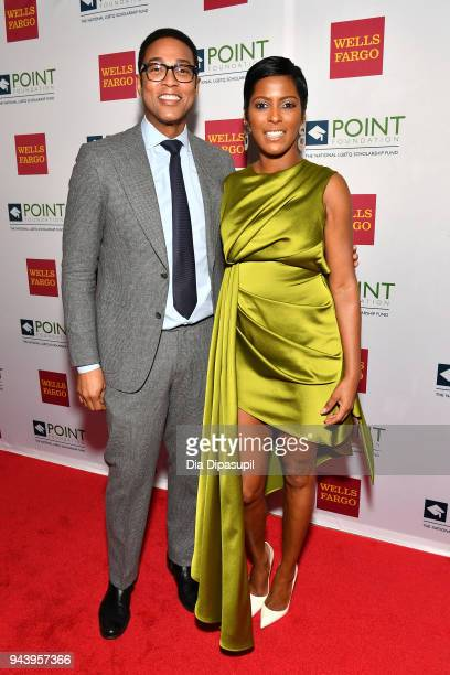 Journalists Don Lemon and Tamron Hall attend as Point Foundation hosts Annual Point Honors New York Gala Celebrating The Accomplishments Of LGBTQ...