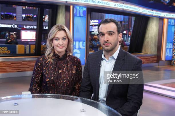 AMERICA Journalists Elizabeth Wagmeister and Ramin Setoodeh comment on the Matt Lauer story on Good Morning America Thursday November 30 airing on...