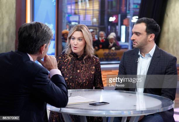 AMERICA Journalists Elizabeth Wagmeister and Ramin Setoodeh comment on the Matt Lauer story on 'Good Morning America' Thursday November 30 airing on...