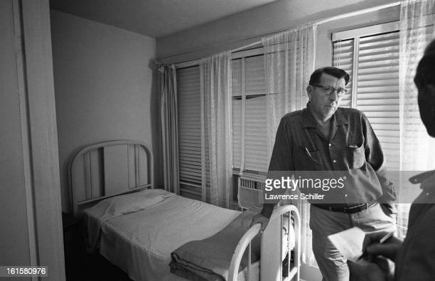 Journalists interview Arthur Carl Jackson the owner of the rooming house where JFKassassin Lee Harvey Oswald lived at the time of the assassination...