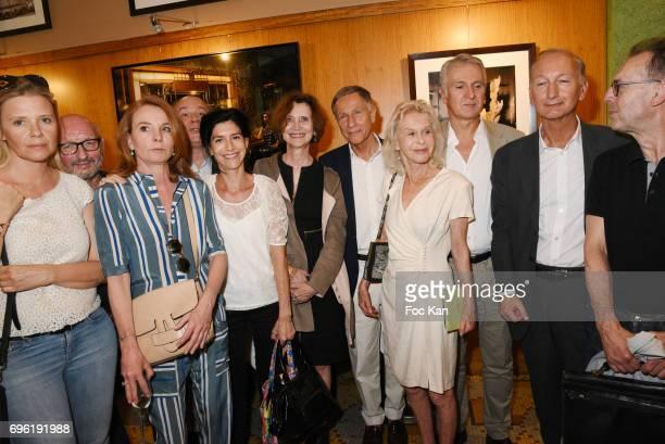 Journalists La Coupole Literary Awards 2017 Jury Members Aude Lancelin Pierre Vavasseur Alix Girod de L Ain Marc Lambron Clara Dupont Monot Fabienne...