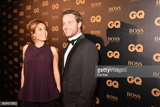 TV journalists Lea Salame and Florent Peiffer attend GQ Men Of The Year Awards at Musee d'Orsay on November 23 2016 in Paris France
