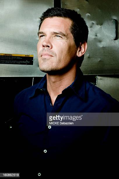 Journalists of 'Paris Match' Josh BROLIN meet in hotel Four Seasons in Beverly Hills Los Angeles on the occasion of the movie 'W' by Oliver Stone who...