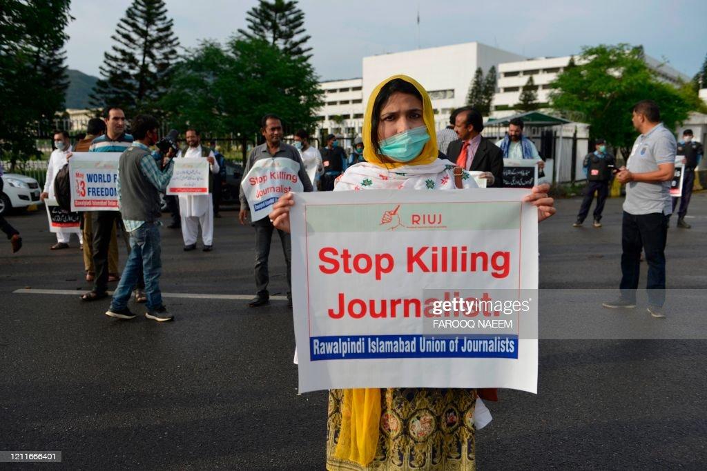 PAKISTAN-HEALTH-VIRUS-MEDIA-RIGHTS : News Photo