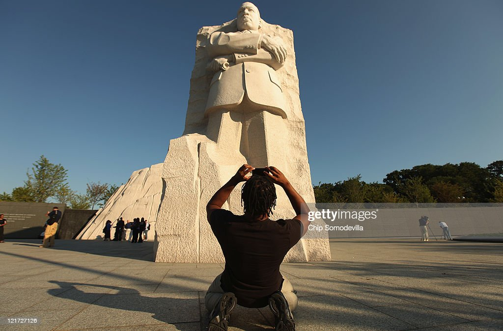 Media Preview Held For The Martin Luther King National Memorial ...