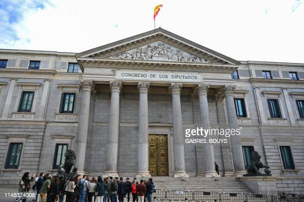 ESP: Catalan Prisoners Attend The Opening Session Of The Spanish Parliament