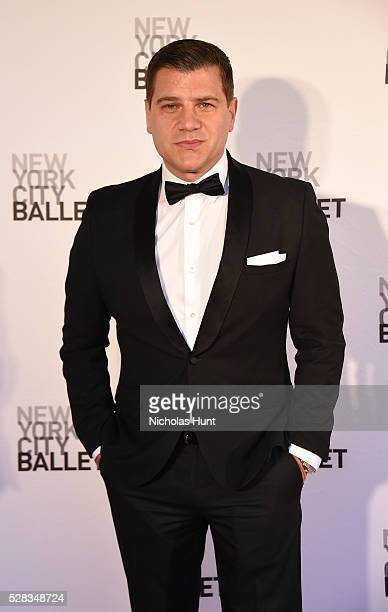 Journalist/TV Personality Tom Murro attends New York City Ballet's Spring Gala at David H Koch Theater at Lincoln Center on May 4 2016 in New York...