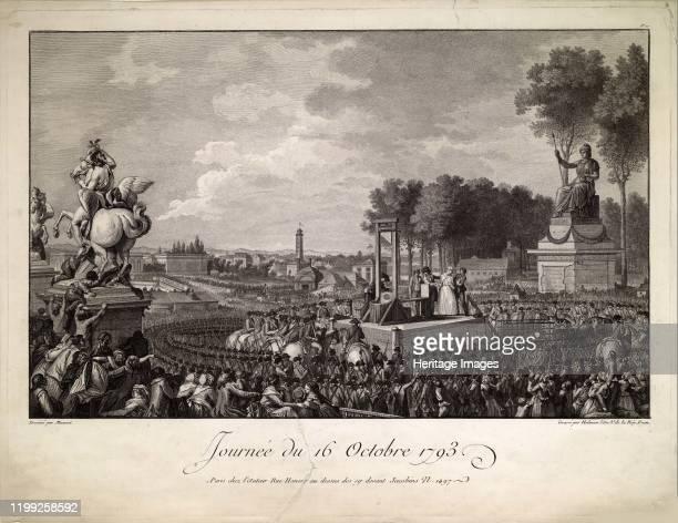 Journée du 16 octobre 1793 c 1795 Private Collection Artist Helman Isidore Stanislas