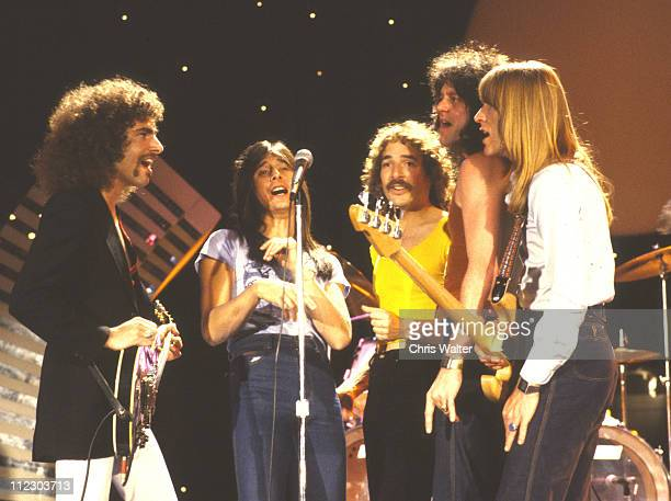 Journey 1979 on Midnight Special lr Neal Schon Steve Perry Steve Smith Gregg Rolie Ross Valory
