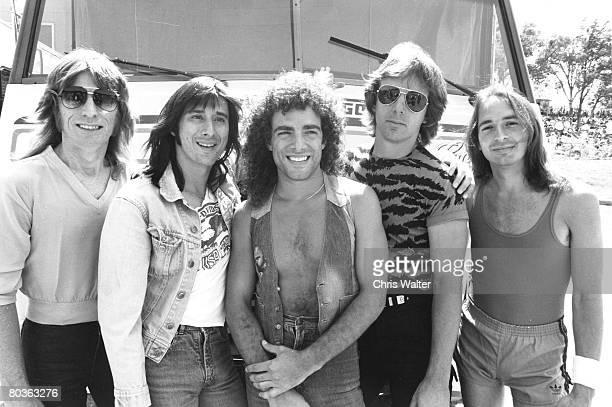 Journey 1981 Ross Valory, Steve Perry, Neal Schon, Jonathan Cain, Steve Smith