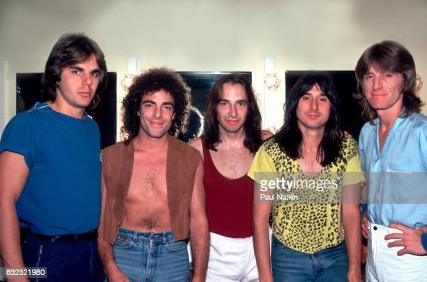 Journey at the Poplar Creek Music Theater in Hoffman Estates, Illinois, September 3, 1981.