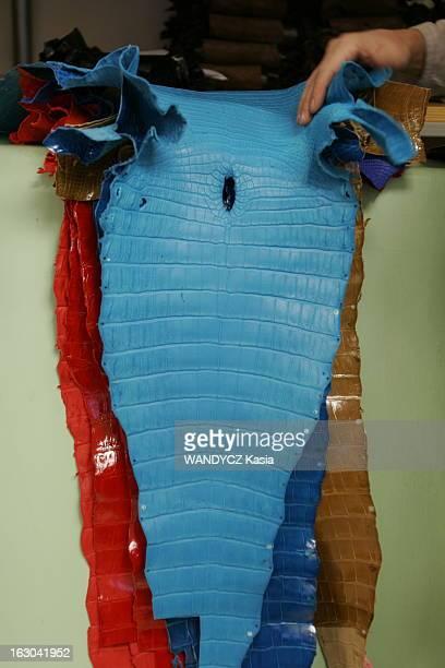 Journey In The Heart Of The New Hermes Bag La naissance du dernierné des sacs Hermès le 'Paris Bombay' dans les ateliers de Pantin peaux colorées