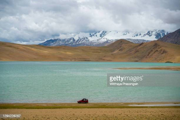 journey is begin in nubra valley. - charming stock pictures, royalty-free photos & images