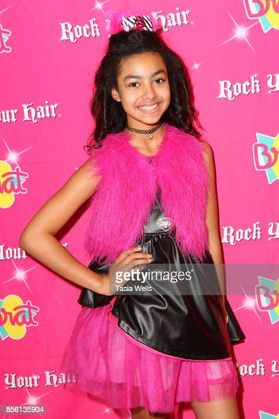 Journey Slayton at Rock Your Hair Presents Rock Back to School Concert Party on September 30 2017 in Los Angeles California