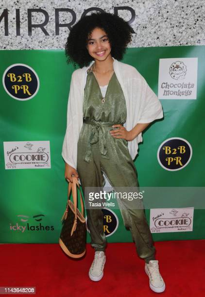 Journey Slayton attends Issie Swickle Celebrates the Release of Her New Single 'Mirror' at The Industry Loft Space on April 18 2019 in Hollywood...