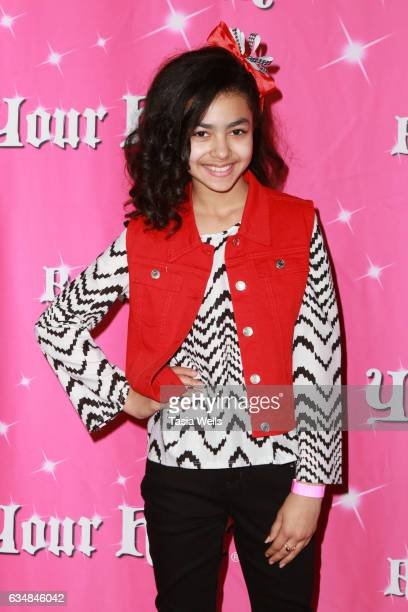Journey Slayton attends Rock Your Hair presents Valentine's Rocks at The Avalon Hotel on February 11 2017 in Los Angeles California