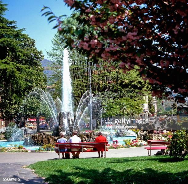 Journey to Lugano Switzerland 1980s