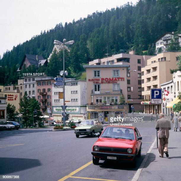 Journey to St Moritz Switzerland 1980s