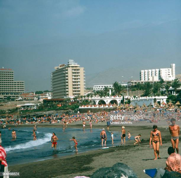 A journey to the volcanic island Tenerife Spain 1970s