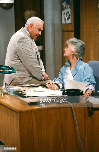 GIRLS Joust Between Friends Episode 9 Pictured Reid Shelton as Mr Allen Bea Arthur as Dorothy Petrillo Zbornak