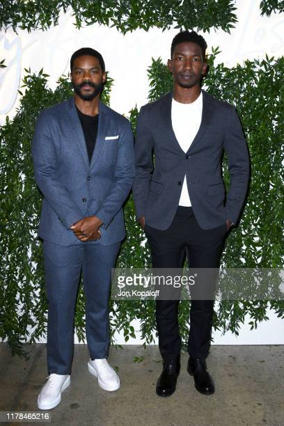 Jovan Adepo and Mamoudou Athie attend the Sorry For Your Loss season 2 premiere event at NeueHouse Los Angeles on October 01 2019 in Hollywood...