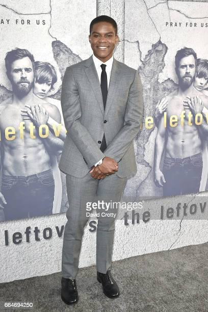 Jovan Adepo attends the Premiere of HBO's The Leftovers Season 3 Arrivals at Avalon Hollywood on April 4 2017 in Los Angeles California