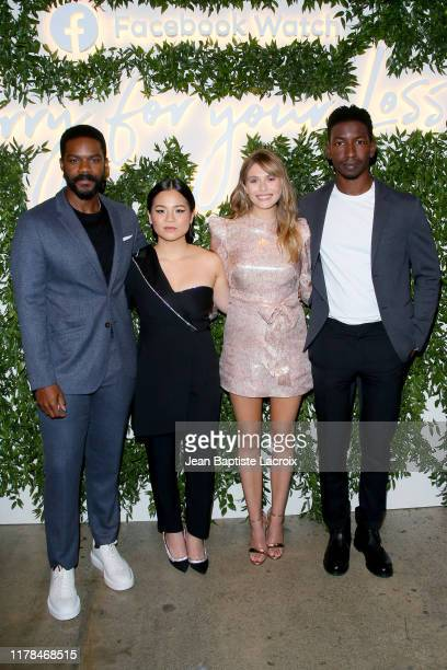 Jovan Adepo Kelly Marie Tran Elizabeth Olsen and Mamoudou Athie attend the Sorry For Your Loss season 2 premiere event at NeueHouse Los Angeles on...