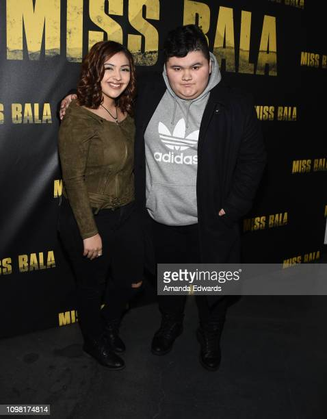 Jovan Armand and Lali Nevarez attend the Sony Pictures Entertainment NALIP Presents LatinX Representation In Entertainment panel and screening of...